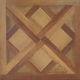 Ламинат Naple Flooring Art parquet Твист Коричневый 70337